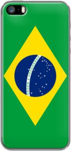 Authentic Brazilian flag - officially the Federative Republic of Brazil By BruceStanfieldArtist for iPhone 5/5s