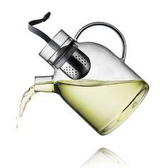 Glass Kettle Teapot - Lekker Home (Menu Scandanavian Design)