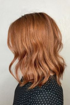 Move Over, Rose Gold – Copper Is the Next Huge Hair Color Trend