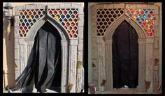 Haunt Entrance Gate: Tutorial - Blogs - Halloween Forum - Awesome entrance for your home or garage haunt