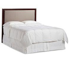 Montgomery Upholstered Headboard, Cal. King, Mahogany stain