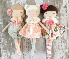 Autumn Skies Collection by SpunCandy Handmade Dolls   See this Instagram photo by @spuncandydolls • 164 likes