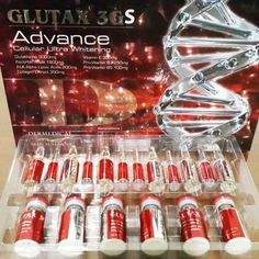 Glutax 3gs Advanced Cellular Ultra Whitening is the new skin whitening product which is quite promising. This injection has major vitamin content which works actively on keeping the skin healthy and pretty. Glutathione is a small component of protein which comprises of 3 amino acids namely cysteine acid, glutamic, and glycine.Basically, this component gets implemented from protein rich foods such as watermelon, asparagus, fresh vegetables, avocado etc.