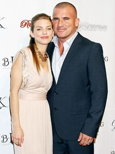 AnnaLynne McCord with bf Dominic Purcell