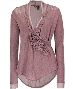 BKE Boutique Crossover Sweater