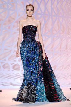 Défile Zuhair Murad Haute couture Automne-hiver 2014-2015 - Look 20