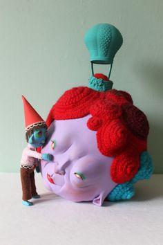 Guido and Daisy by Horriblesweet on Etsy. $850.00, via Etsy.