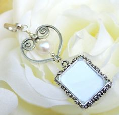 Who do you love? Remember them with my memorial photo charms!  http://etsy.me/2Fb2UPg #etsymntt @Etsy #pottiteam #etsypreneur #bestofetsy #brides #like2 #shopetsy #handmade #weddings #accessories