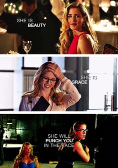 Felicity Smoak <3 Our queen <3