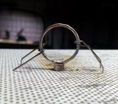Had a friend over the other day and among other things we worked on tube settings. Here are two rings I made and since the ring shank I us...