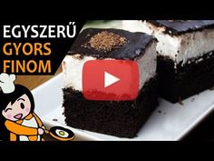 Riga, Deserts, Make It Yourself, Recipes, Food, Youtube, Molten Chocolate, Cacao Powder, Sheet Cakes