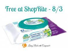 FREE Kandoo Wipes at ShopRite! {8/3}