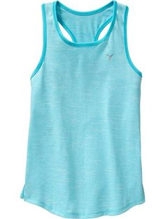 Girls Old Navy Active Space-Dye Tanks skutest