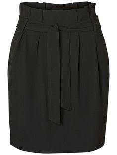 Black high waist skirt