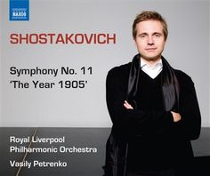 "Shostakovich: Symphony No. 11 ""The Year 1905"" - Naxos CD. £6.95"