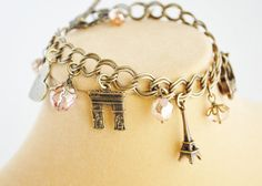 Vive la France  Paris Charm Bracelet  - maybe I will get this when I have actually traveled to each