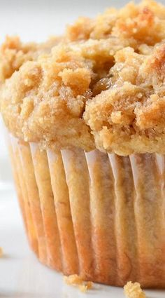Banana Brown Sugar Crumb Muffins