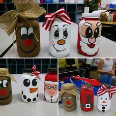 Our guests are so creative #How cute are these little guys? #2 on the top sellers list at #chalkyandcompany #chalkylady #chalkyPaint #diy #christmas