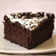 Black Bean chocolate cake | forgiving martha