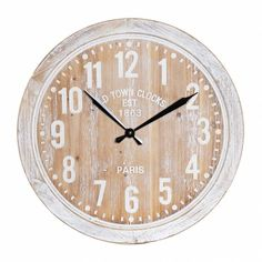 Clock, Wall, Home Decor, Tree Hut Watches, Natural Wood, Crystals, Watch, Decoration Home, Room Decor