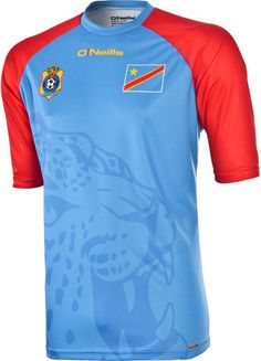 ff0fbca45 DR Congo 2015 O Neills Home Kits Soccer Shirts