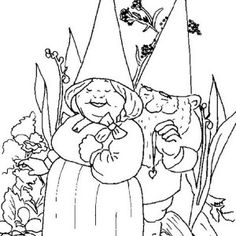 23 coloring pages of David the Gnome on Kids-n-Fun.co.uk