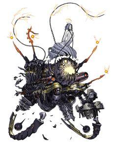 Morgana V2.0 from Terra Battle #illustration #artwork #gaming #videogames #gamer