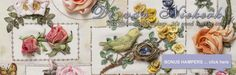 6. Rosas Di van Niekerk está em seda e fita de organza livro | Di van Niekerk