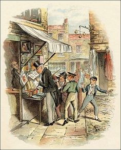18th and 19th Century: Visitor Safety in Regency London - Picture of Pickpockets