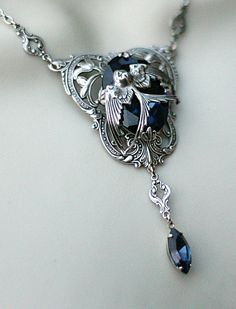 Harry Potter Rowena Ravenclaw's Diadem Inspired Necklace. $37.00, via Etsy.