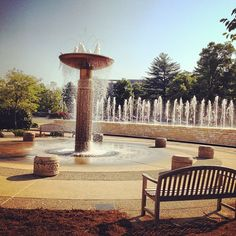 """@iujsom's photo: """"Morning #Bloomington"""" I used to sit outside here almost daily junior year when the weather was nice! Love the Music School!"""