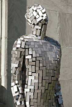 The Building VI Sculpture by Antony Gormley #publicart #streetart #sculpture