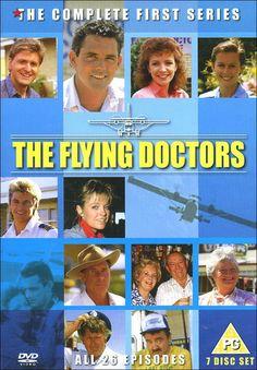 """The Flying Doctors series 1  """"Die fliegenden Ärzte""""  1985-1993"""