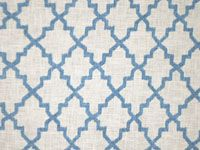 Darling linen  Thomas Dare at Stark  Latora FH colorway blue -0001