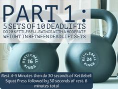 Part 4 of Beginner Kettlebell Workouts for Women: Putting it All Together…