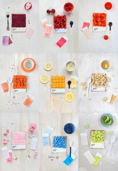 Pantone Foods! These are no flowers...but they certainly are color!