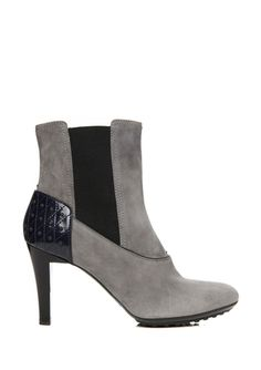 TOD'S Two-Tone Ankle Boot // Love these, just not the price tag haha