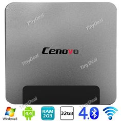 CENOVO Windows 8.1 Android 4.4 Intel Atom Z3735F 1.83GHz 2GB/32GB Smart TV BOX Mini PC ETATH-397539
