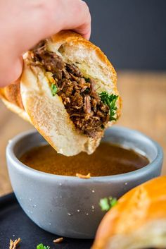 Pressure Cooker French Dip Sandwiches vs. Slow Cooker French Dips