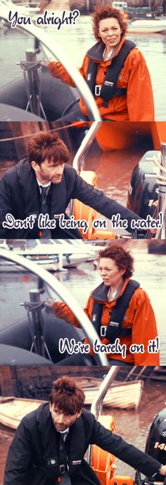 Millers shows her concern for a green gilled Hardy... #MillerMoments #Broadchurch