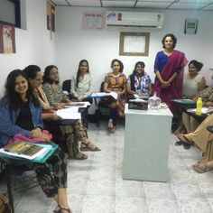 Dr.Kavita Jangam from NIMHANS had come as a guest faculty for our one year #counselling program.