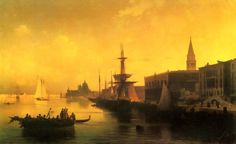 Ivan Aivazovsky, Venice