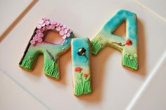 spring cookies for Ria | Cookie Connection