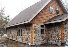 Alternative building ideas, open frame, straw bale, rammed earth, cordwood