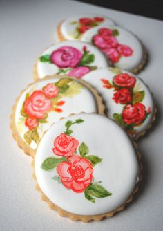 (to purchase, not to bake yourself) Be Always Blooming Series by SogisHoneyBakeshop on Etsy
