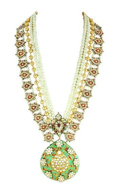 long raani haar , jade green necklace , multi strand necklace , long raani haar , bridal layered jewellery