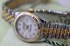 210eacd147a ROLEX Datejust 179173 IBE - White Diamond Jubilee Bracelet - Montre Swiss   Rolex  LuxuryDressStyles