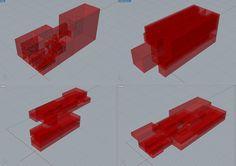 prove volumetriche astratte dal processo di suddivisione di quadrilateri