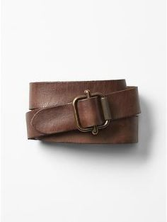 Shop Gap for an outstanding collection of men's accessories. Add panache to your look with stylish accessories for men. Leather Belts, Cow Leather, Gap Men, Brass Buckle, Belt Tying, Belts For Women, Dark Brown, Tea, Womens Fashion