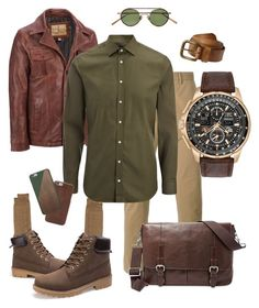 """Ed Ware"" by vivian-rose-turner on Polyvore featuring Wilsons Leather, PS Paul Smith, Barneys New York, Joseph, Citizen, Acne Studios, prAna, FOSSIL, Native Union and men's fashion"